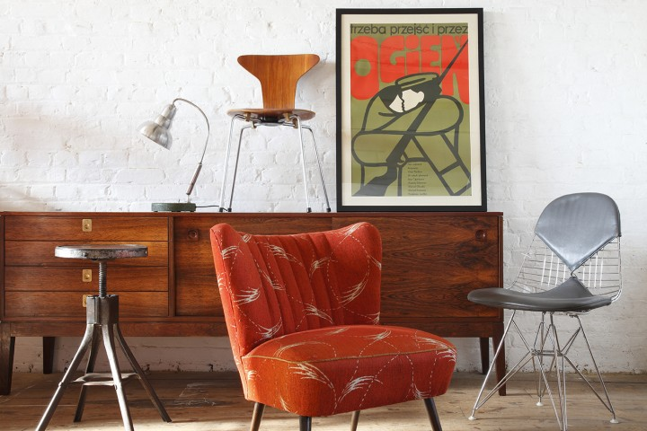Retro 50s, 60s and 70s - Mid Century Modern chairs