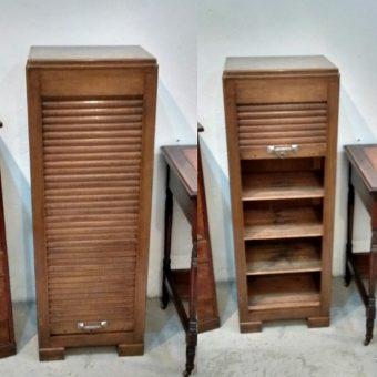 1930s. Tambour Cabinet