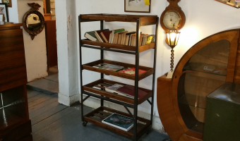 Vintage shoe trolley  £395.