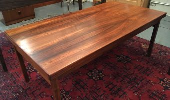 Rosewood coffee table £195