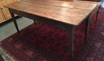French farmhouse table £345