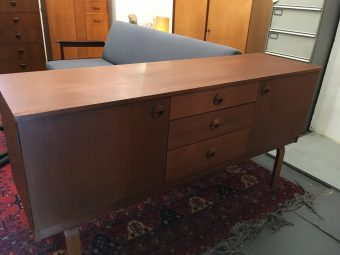 Small teak sideboard made by Schreiber