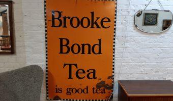 Brooke bond tea metal sign £530