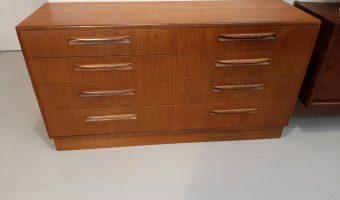 G – plan bank of drawers