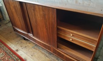 Rosewood sideboard by E.W. Bach