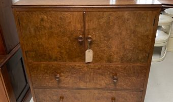 1930s Walnut cabinet
