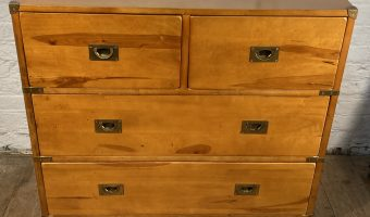 Campaign style chest £280