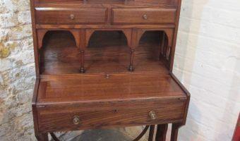 Walnut Writing Cabinet