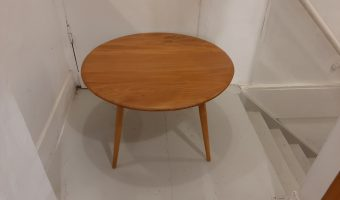 Ercol round d coffee table