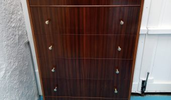 Mid Century Chest  SOLD