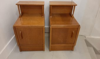 Pair of G -plan bedside cabinets £325