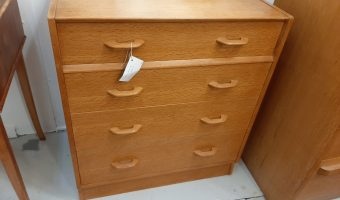 G – plan chest of drawers £265