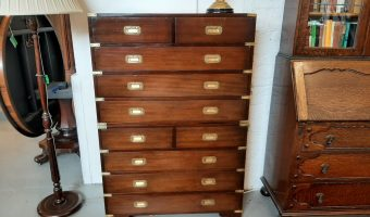 Military style campaign chest of drawers £645