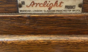 Oak 6 drawer plan chest by Arclight £445