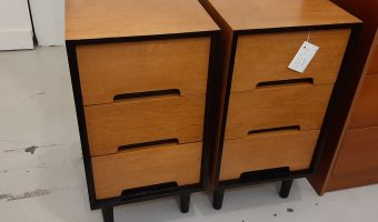 John and Sylvia Reid converted bedside cabinets £545