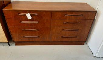 G-plan bank of drawers