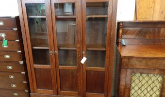 Arts and crafts bookcase £395