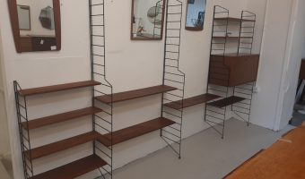 1960s string wall unit £895