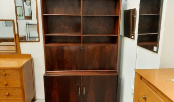 Danish rosewood bookcase £795